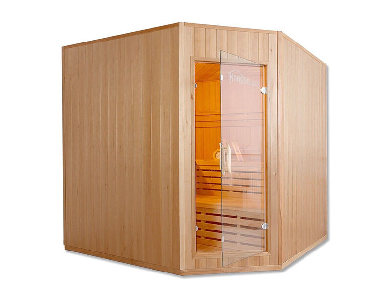 wellness f r zuhause eine sauna unter 1000 euro ebay. Black Bedroom Furniture Sets. Home Design Ideas