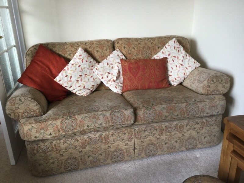 Sofa and 2 chairs Marks and Spencers