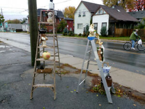 Choice of step ladders $45.00 at 277 Montreal st