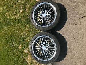Rims with tires NEW