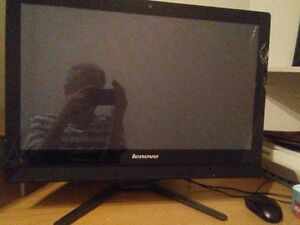 desk 21.5 screen touch screen lenovo