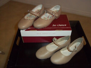 2 pairs of Girls So Danca tap dance shoes: together / separately Gatineau Ottawa / Gatineau Area image 1