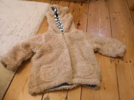 Boden Teddy jacket 6-12 months
