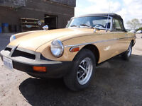1977 MGB Convertible ** NEW MEXICO IMPORT!!**