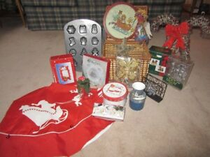 Overflowing Christmas Basket