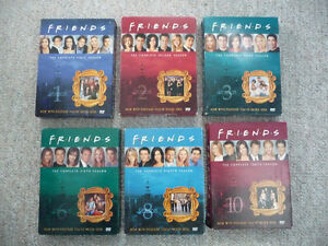 Friends Seasons 1-3, 6, 8, & 10 on DVD