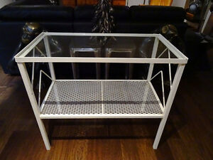 SHABBY wrought iron hallway console table stand ENGLISH baby's Cambridge Kitchener Area image 5