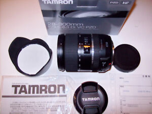 TAMRON AF 28-300mm F/3.5-6.3 DI VC PZD A010 for Canon