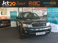 2009 59 LAND ROVER RANGE ROVER SPORT 3.0 TDV6 SE 5D AUTO COMMAND SHIFT BLACK ALL