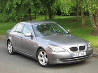 2007 BMW 5 Series 2.0 520d SE 4dr for sale FSH + 2 KEYS + FACELIFT