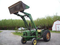 1965 john Deere 2010 tractor with loader