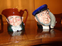 2 Large Toby Jugs for sale