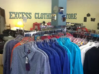 Excess Clothing Store - NEW STOCK IN WEEKLY 2016