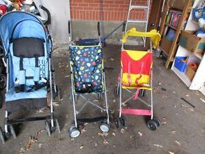 ASSORTED  umblella Strollers ... $10 ... $15 ... $20 ... U PICK