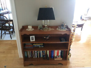 Rock maple bookcase by Roxton