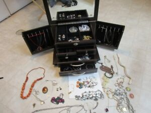 Large lot jewelry take a close look at the pictures In Trail