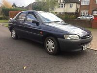 FORD ESCORT 1.6 1996 ONLY DONE 35k FROM NEW LADY OWNER. FULL HISTORY. YEARS MOT. CLASSIC.