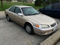 2000 Toyota Camry Sedan (safetied and e-tested)