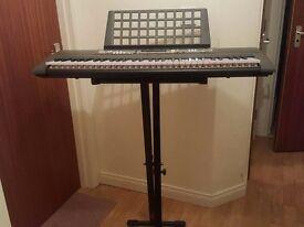 Yanaha Keyboard and stand.