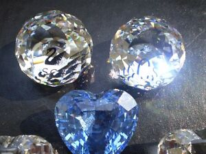 Swarovski Crystal Hearts and SCS Paper Weights Kitchener / Waterloo Kitchener Area image 2