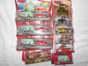 """NEW In Packages """"CARS"""" Metal Dinkys"""