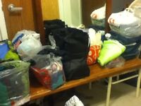 Lots of clothes
