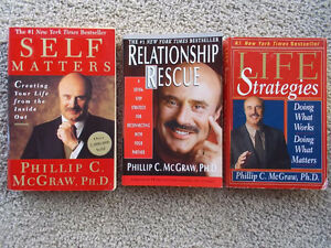 3 Dr. Phil self help books