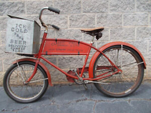 WANTED old bicycles
