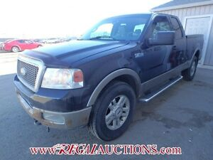 2004 FORD F150 LARIAT SUPERCAB 4WD 5