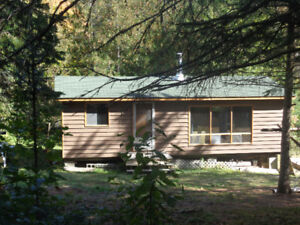 'Live like a pioneer' Algonquin Cabin for rent all year round