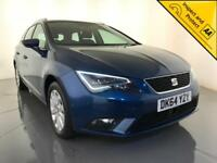 2014 SEAT LEON TECHNOLOGY DIESEL ESTATE FREE ROAD TAX 1 OWNER SERVICE HISTORY