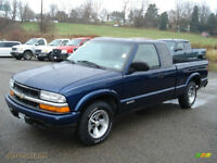 WANTED: VARIOUS PARTS FOR 2002 CHEVY S-10