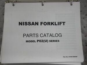 Nissan Forklift Parts Book