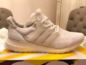 Adidas Ultraboost 3.0 (Triple white) Size 10.5 Perth Perth City Area Preview