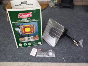 Coleman Heater Focus 12 - Propane Radiant - CAMPING etc...