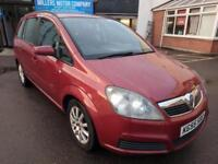 2005 Vauxhall Zafira 1.6i Club Petrol | Manual | 7 seater | Red