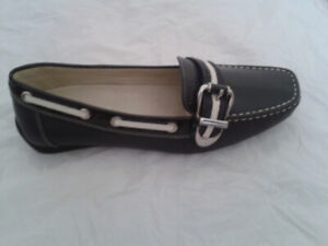 GEOX Leather Respira Moccasins-Brand New