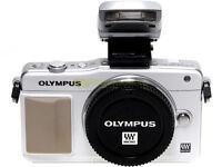 Olympus Pen E-pm2 Bianca Mirrorless 16,1mp. Formato Micro 4/3. Garanzia 12 Mesi. - olympus - ebay.it