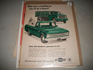 ORIGINAL AUTOMOTIVE PRINT ADS 1920's-1970's CARS and TRUCKS Belleville Belleville Area image 10