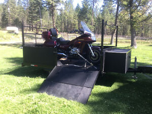 Gold wing & Trailer combo