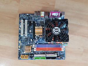 AMD Athlon 64 3000+ with motherboard