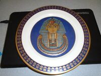 """Mask of King Tutankhamun""Collectors Plate"
