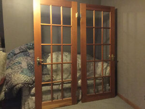 Two Cedar French doors London Ontario image 1