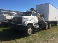 1983 GMC Brigadier Semi Truck with Picker