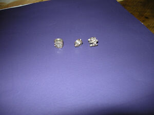 * Pandora * Retired Silver/14K Gold Charms + Diamonds *