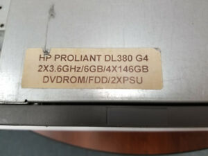 HP ProLiant DL380 G4