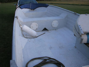 1997 Nordic 14ft boat Northtrail trailer 9.9 Yamaha possibly Kingston Kingston Area image 6