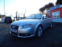 2006 Audi A4 3.0 TDi Quattro S Line 2dr Tip Auto 1 former keeper,Full service...