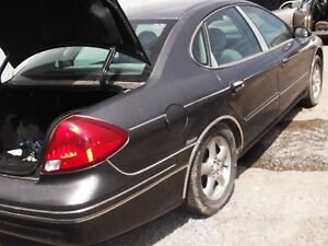 2002 Ford Taurus Sedan Certified Etest trade for Cargo Van obo.