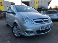 Vauxhall Meriva Desigh 1.4i Twinport 2010 ** Cheap To Run & Insure